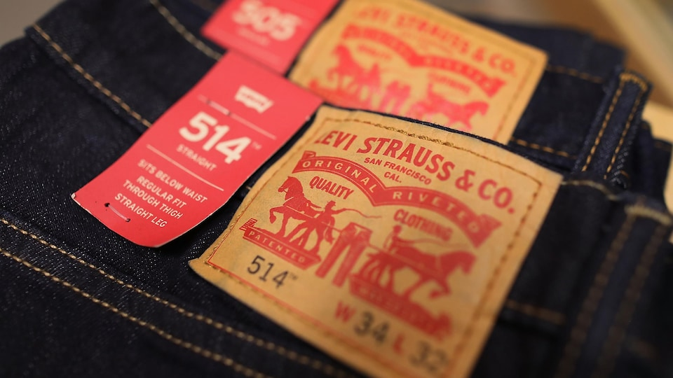 Des jeans de Levi Strauss & Co.