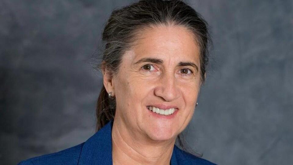 Line Lamarre, présidente du Syndicat des professionnels du gouvernement du Québec