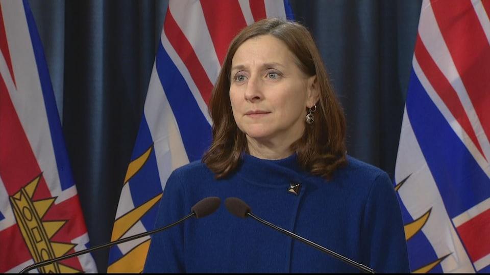 Lisa Lapointe, coroner en chef du Service des coroners de la Colombie-Britannique
