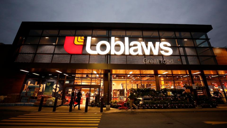 Un supermarché de Loblaw situé à Ottawa, en Ontario.