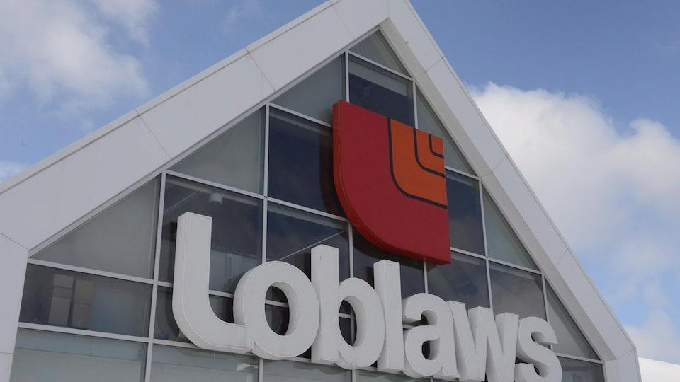 Un magasin Loblaw de Montréal en mars 2015.