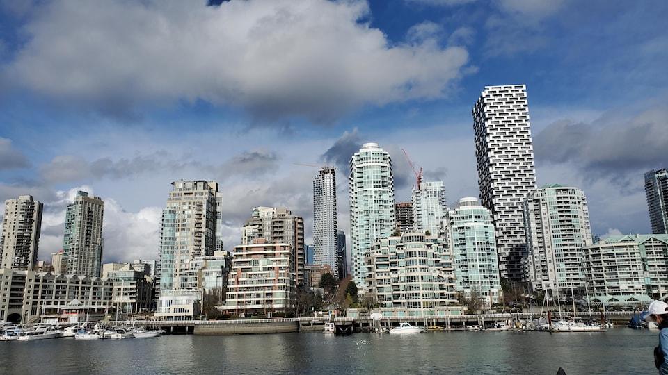 Le centre ville de Vancouver.