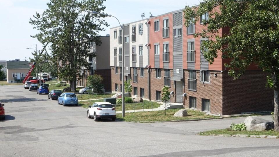 Des logements sociaux à Rimouski.