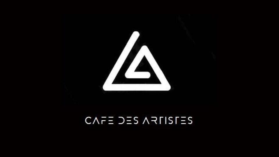 Le logo du Café des artistes