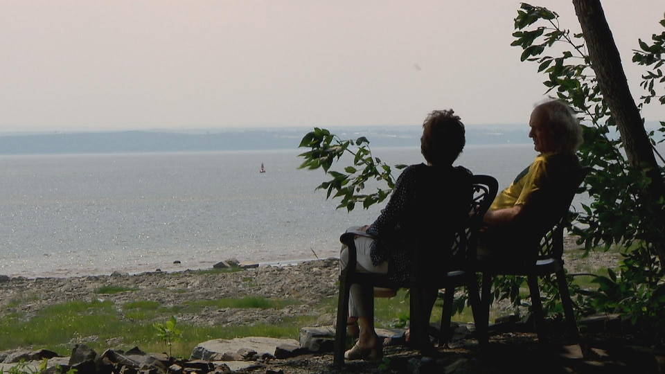 Lorraine Vaillancourt et son conjoint ont déménagé leurs pénates sur l'île d'Orléans l'an dernier, croyant les tracas terminés