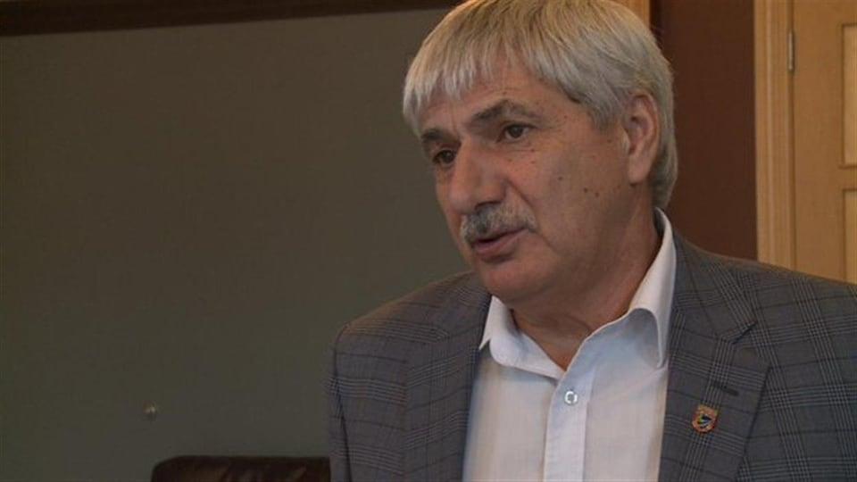 Aldéoda Losier, ex-maire de Tracadie