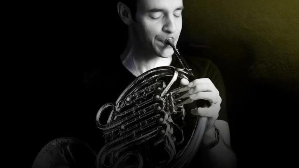 Le corniste Louis-Philippe Marsolais sera du spectacle Entre amis : musique pour ensembles, présenté à la chapelle de Saint-Fabien-sur-mer le 10 août