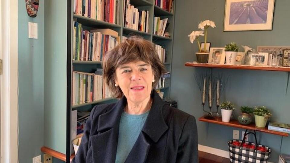 La professeure associée à la faculté de sciences infirmières de l'Université Laval à Québec, Louise Hamelin-Brabant.