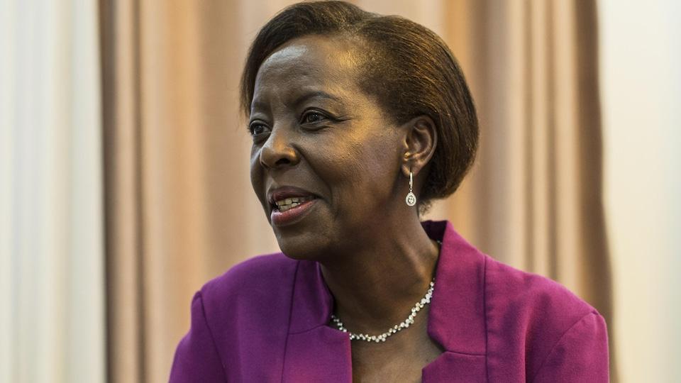 La Rwandaise Louise Mushikiwabo est pressentie comme la prochaine secrétaire générale de l'Organisation internationale de la Francophonie.