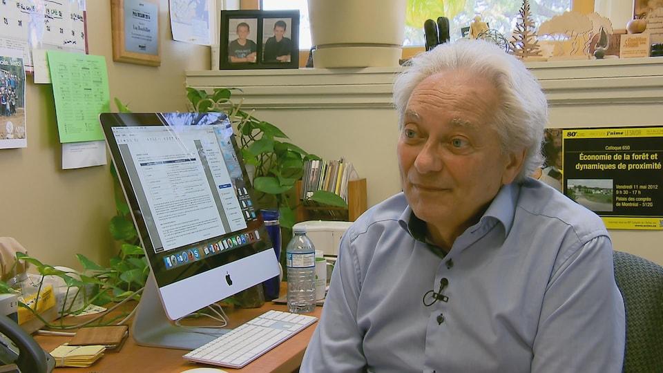 Luc Bouthillier, professeur spécialisé en politique forestière et évaluation environnementale à l'Université Laval