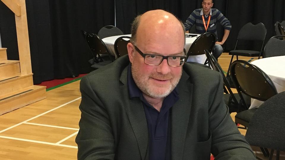 Luc Desjardins, président de l'Association francophone des municipalités du N.-B.