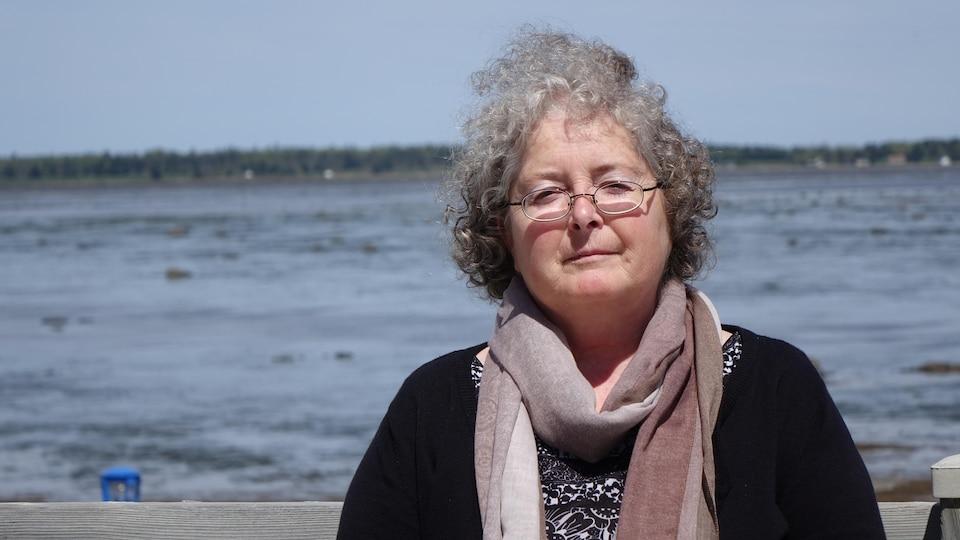 La directrice générale du Conseil régional de l'environnement du Bas-Saint-Laurent, Luce Balthazar
