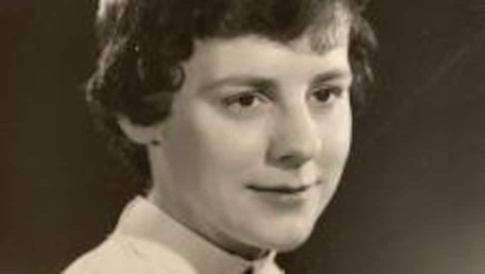 Portrait de Lucille Gauthier dans sa jeunesse.