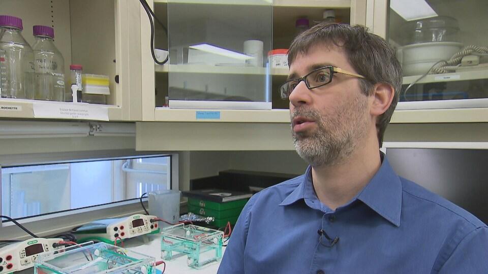 Patrick Rochette, professeur-chercheur à l'Université Laval