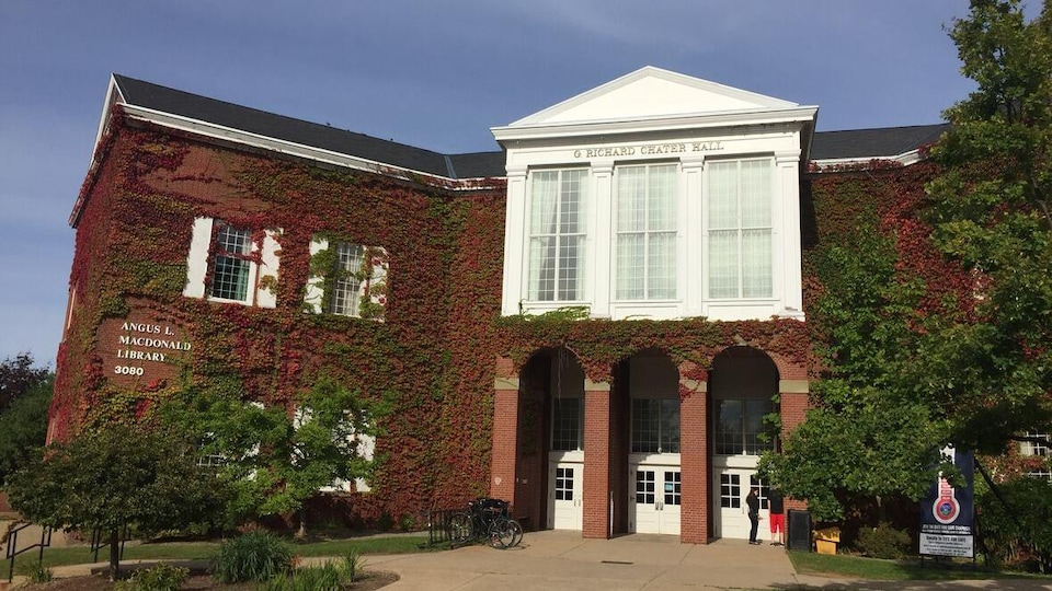 L'Université Saint-Francis-Xavier, à Antigonish.