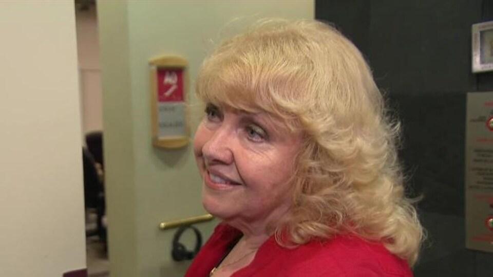 La sénatrice Lynn Beyak.