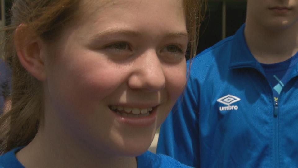 Madalyn Mackinnon, native de Miramichi, participera aux Jeux de l'Acadie 2018.
