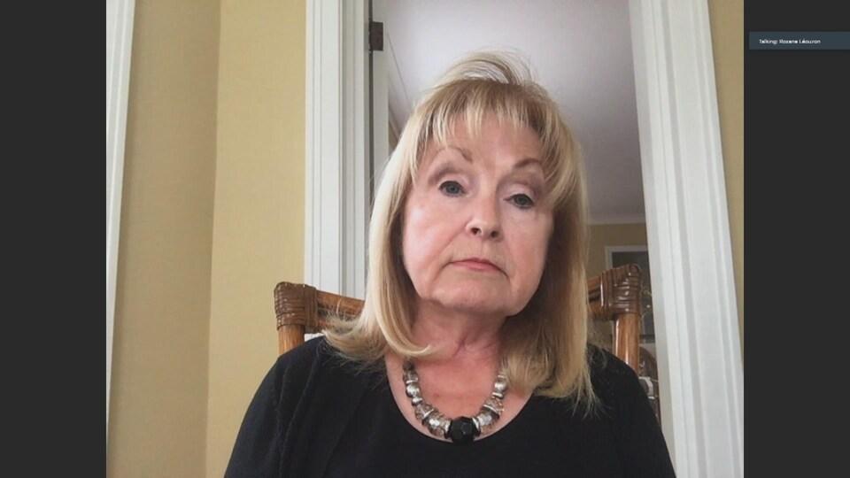 Madeleine Meilleur, en entrevue.