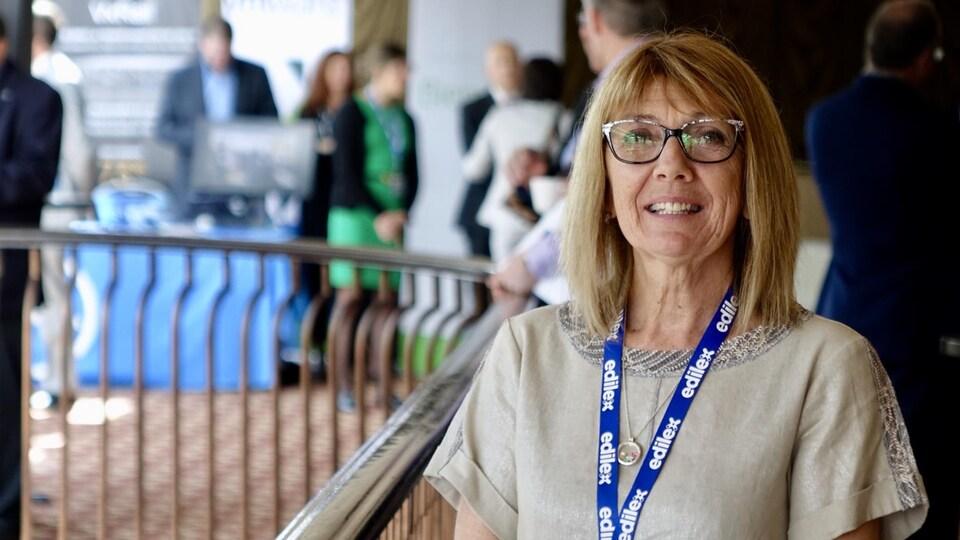La directrice générale de la Commission scolaire des Phares, Madeleine Dugas.