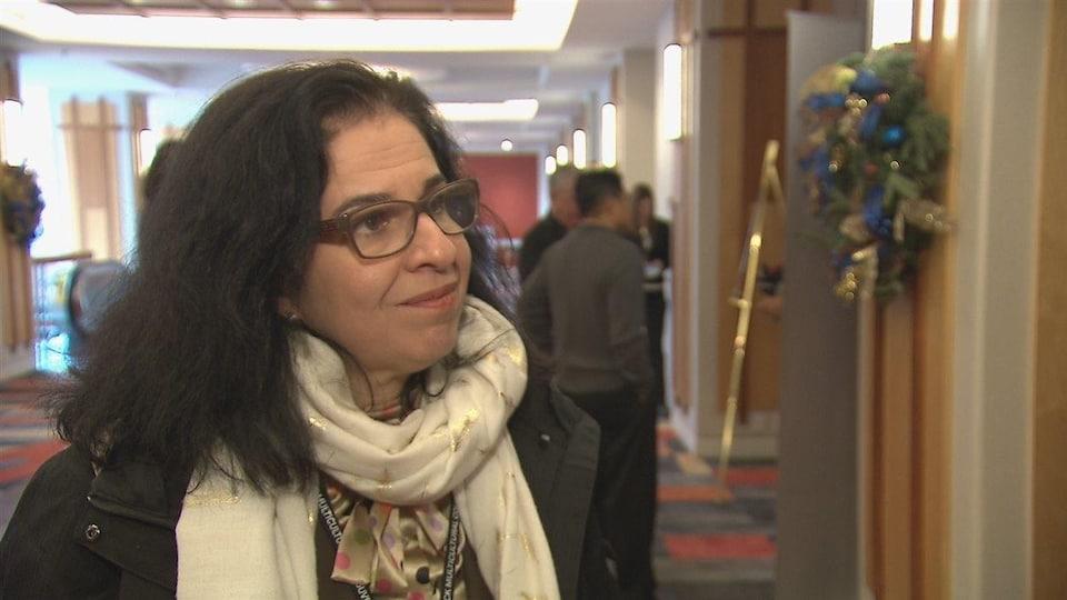 Maha Imazitene est la directrice du CAFI, le Centre d'accueil et d'accompagnement francophone des immigrants du sud-est du Nouveau-Brunswick.