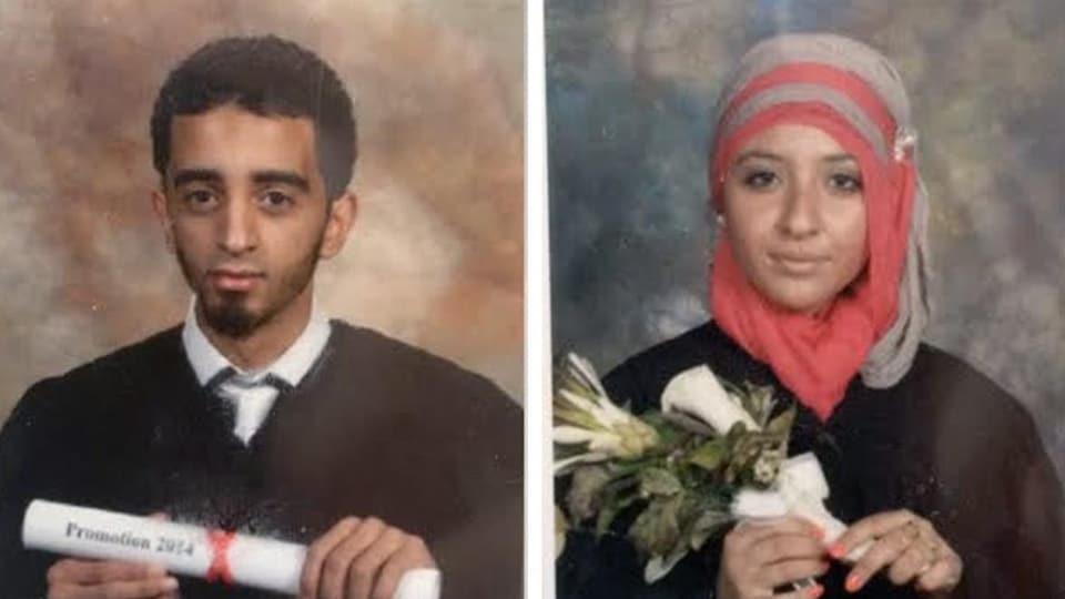El Mahdi Jamali et Sabrine Djermane
