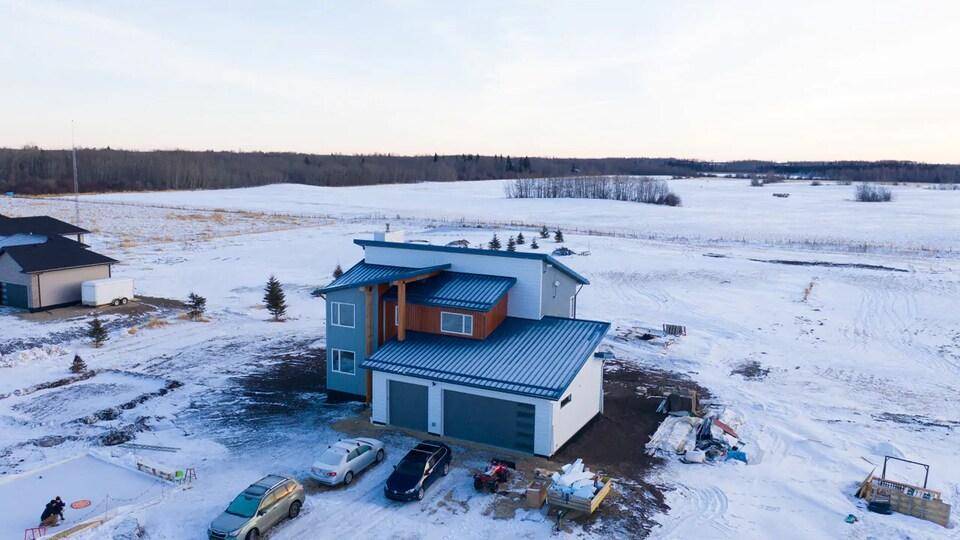 Une maison carboneutre.