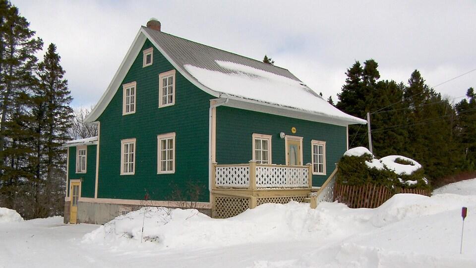 La maison Horace-Bouffard à Petit-Matane
