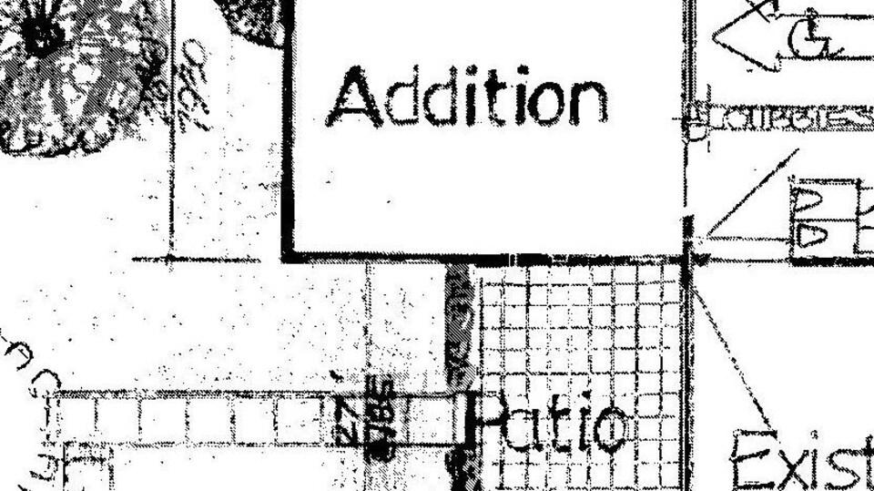 Le Conseil tribal de Saskatoon a présenté un plan de la maison avec les agrandissements souhaités.