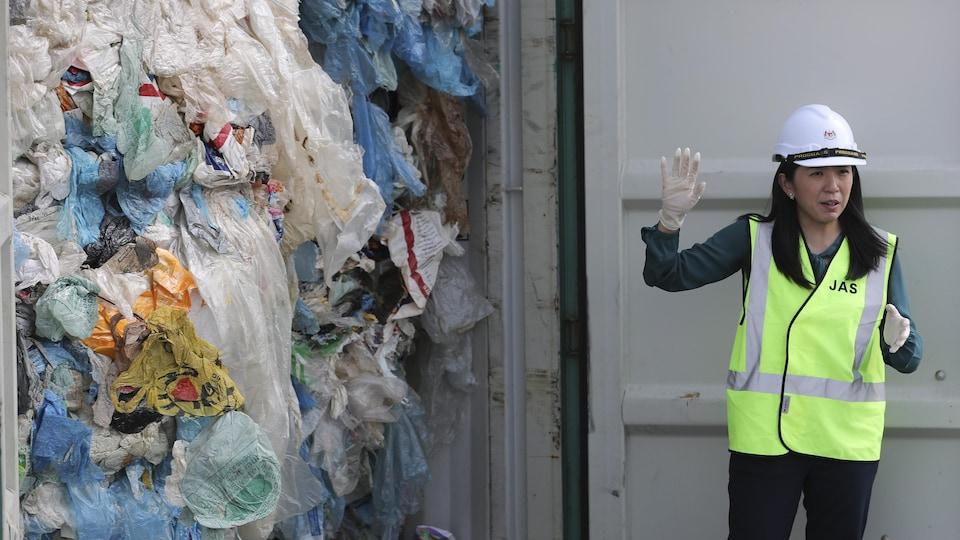 La Malaisie va renvoyer des centaines de tonnes de déchets plastiques