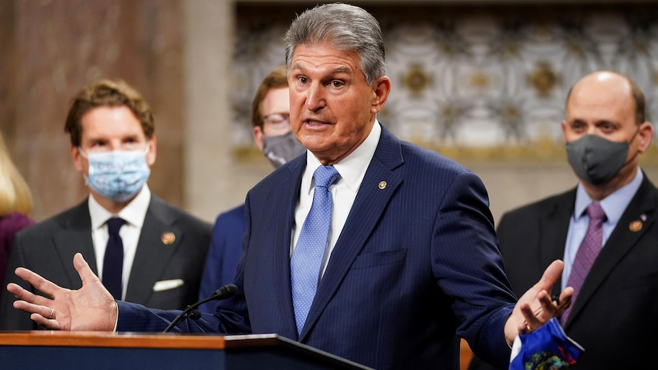 Le sénateur démocrate de Virginie-Occidentale, Joe Manchin.