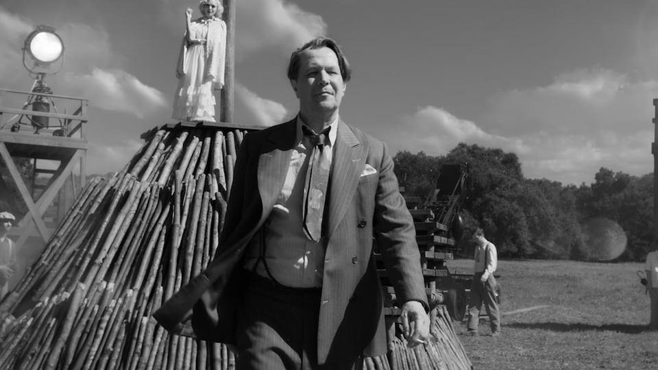 Gary Oldman dans le film « Mank »