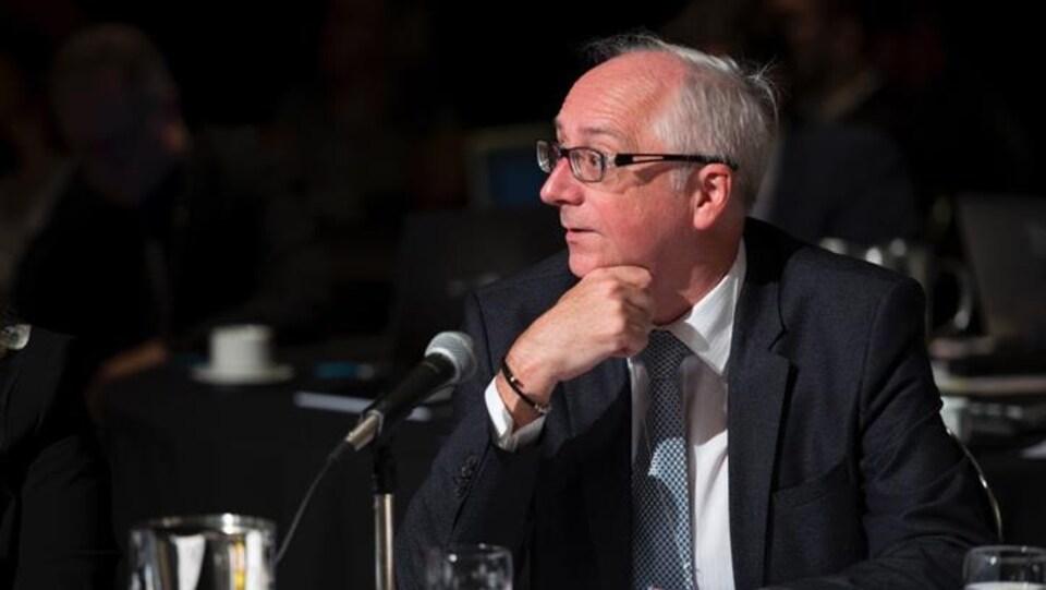 Marc Croteau, sous-ministre à l'Environnement du Québec.