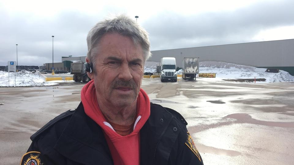 Marc Landry, ex-chef de brigade des pompiers de Caraquet/Bas-Caraquet.