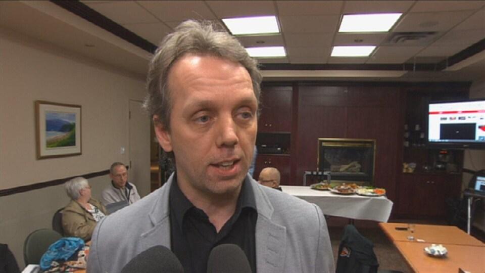 Marc Maltais, directeur régional FTQ Saguenay-Lac-Saint-Jean