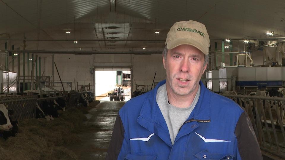 Marcel Daigle, fermier.
