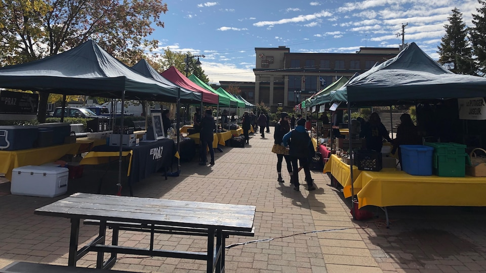 Le marché public de Rouyn-Noranda