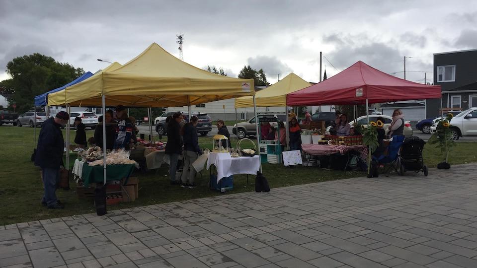Le site du marché public de Val-d'Or