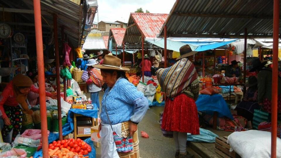 Le marché de Chamaca.