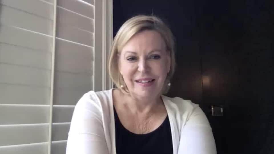 Margaret Gillis, présidente et Fondatrice de l'organisme International Longevity Centre Canada, en entrevue par vidéoconférence à Radio-Canada