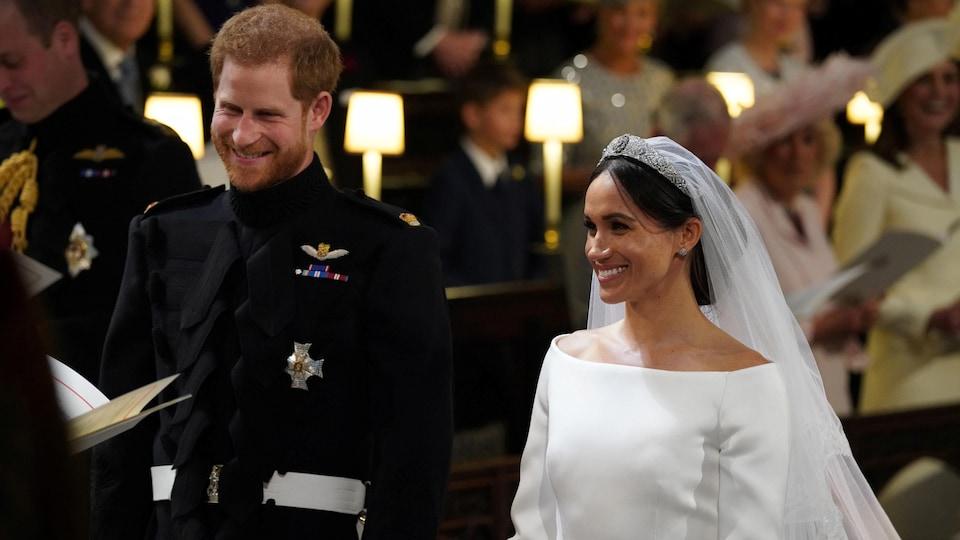 Le prince Harry a épousé Meghan Markle ce matin au château de Windsor.