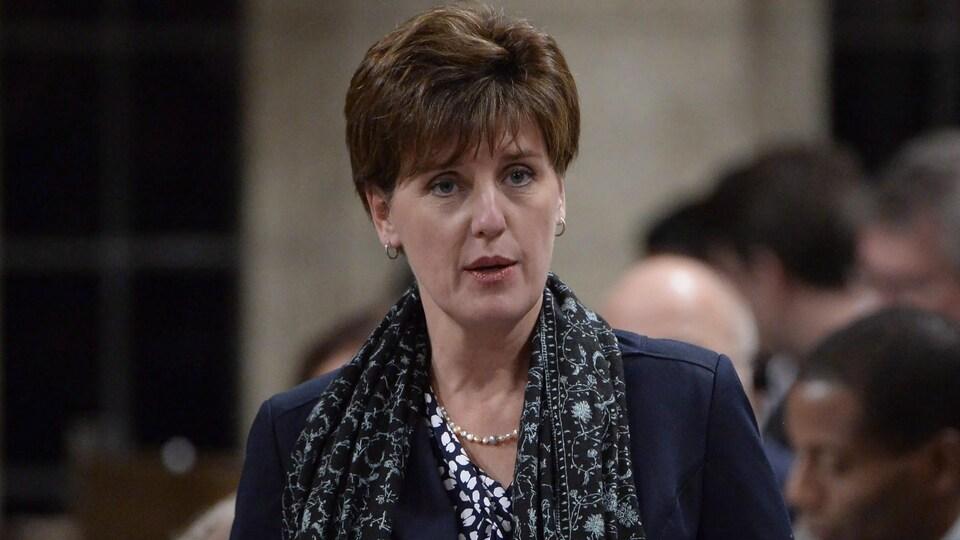 Marie-Claude Bibeau, ministre du Développement international et de la Francophonie