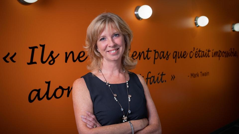 Marie-Claude Sévigny est directrice générale de la coopérative Enfance Famille