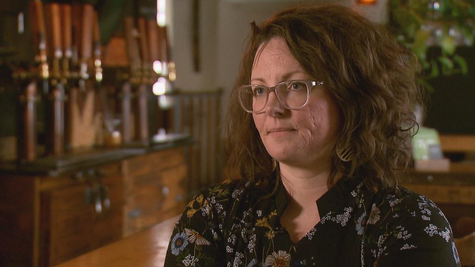 Marie-Ève Myrand, directrice générale de l'Association des microbrasseries du Québec.