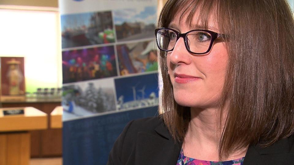 Marie-Ève Proulx, ministre responsable de la Gaspésie et des Îles-de-la-Madeleine