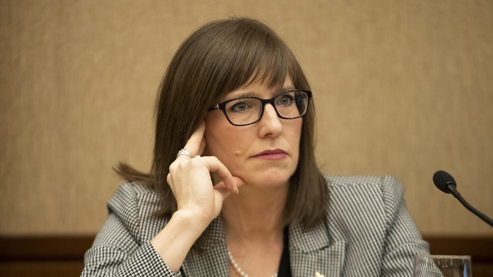 La ministre responsable de la région Gaspésie-Îles-de-la-Madeleine, Marie-Eve Proulx.