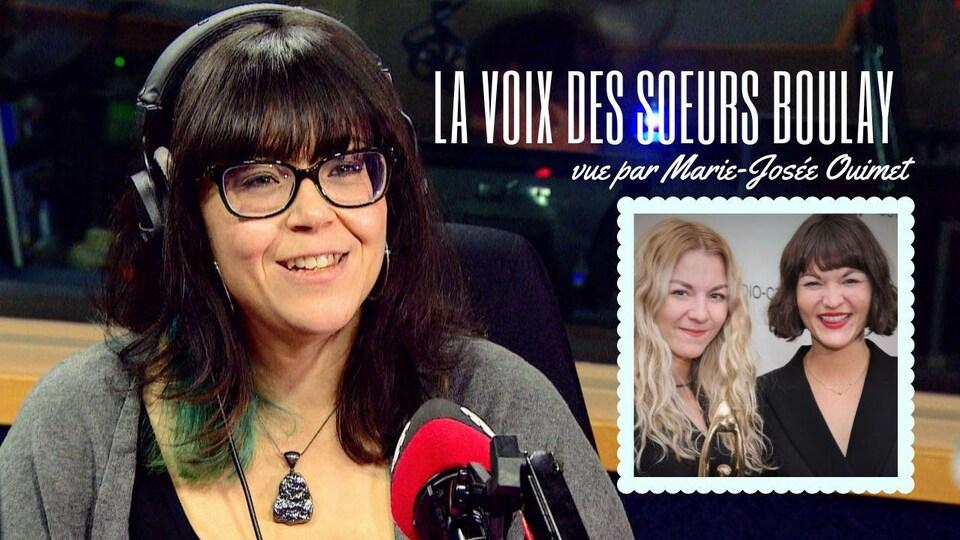 Analyse de Marie-Josée Ouimet à la barre du Café Show.