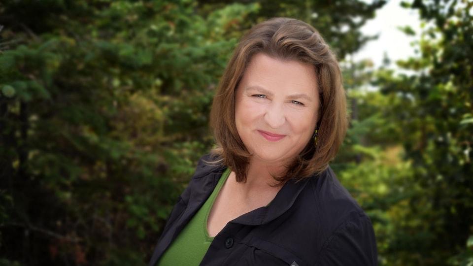 Marie Leclerc, directrice générale du Salon du livre de la Péninsule acadienne.