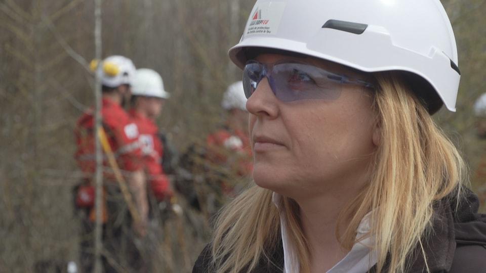 Marie-Louise Harvey, agente aux communications, SOPFEU