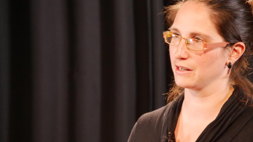 Marie-Phare Boucher, candidate de QS dans Matane-Matapédia
