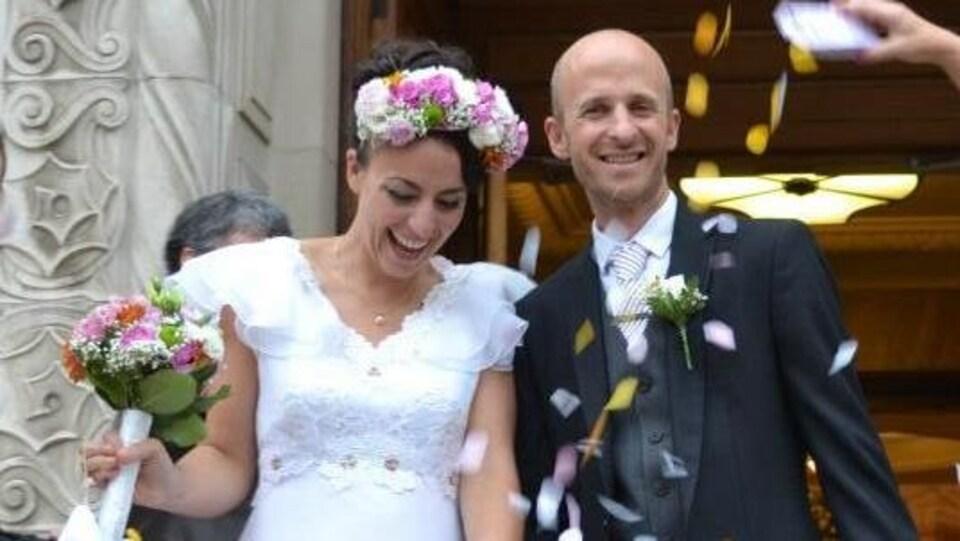 Marilyn Bastien s'est mariée l'été dernier.